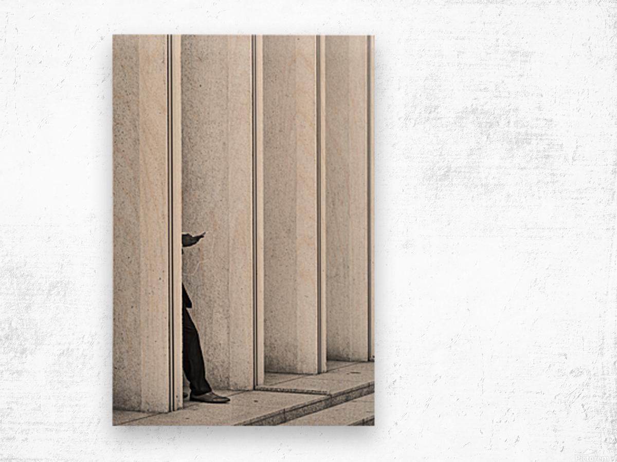 Hidden Impression sur bois
