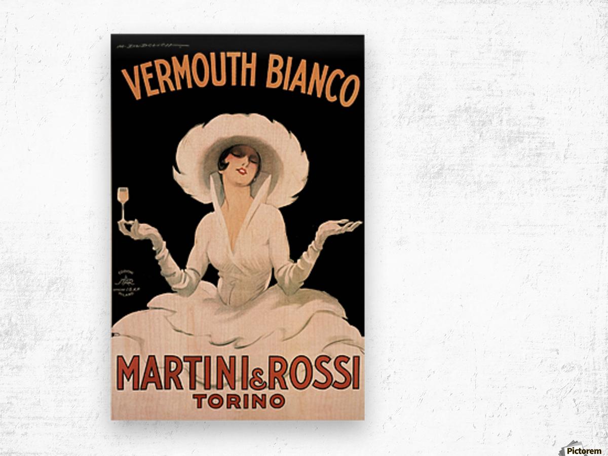 Leonetto Cappiello Cognac Monnet Vintage Ad Art Print Poster Wood print