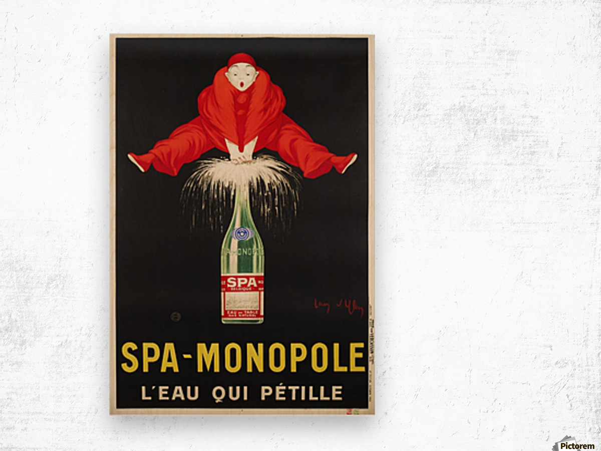 Spa-Monopole - Leau qui petille Wood print