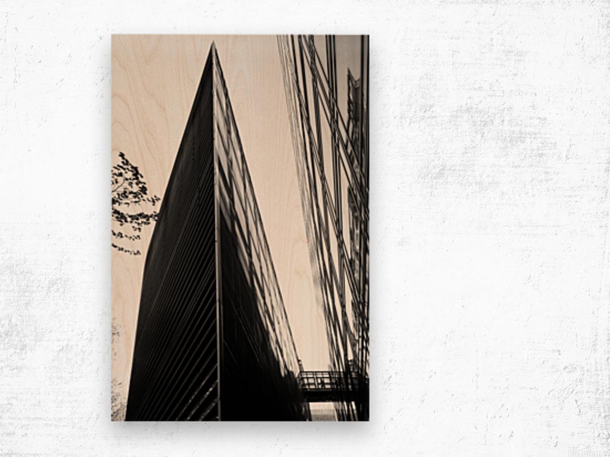 Passageway Impression sur bois