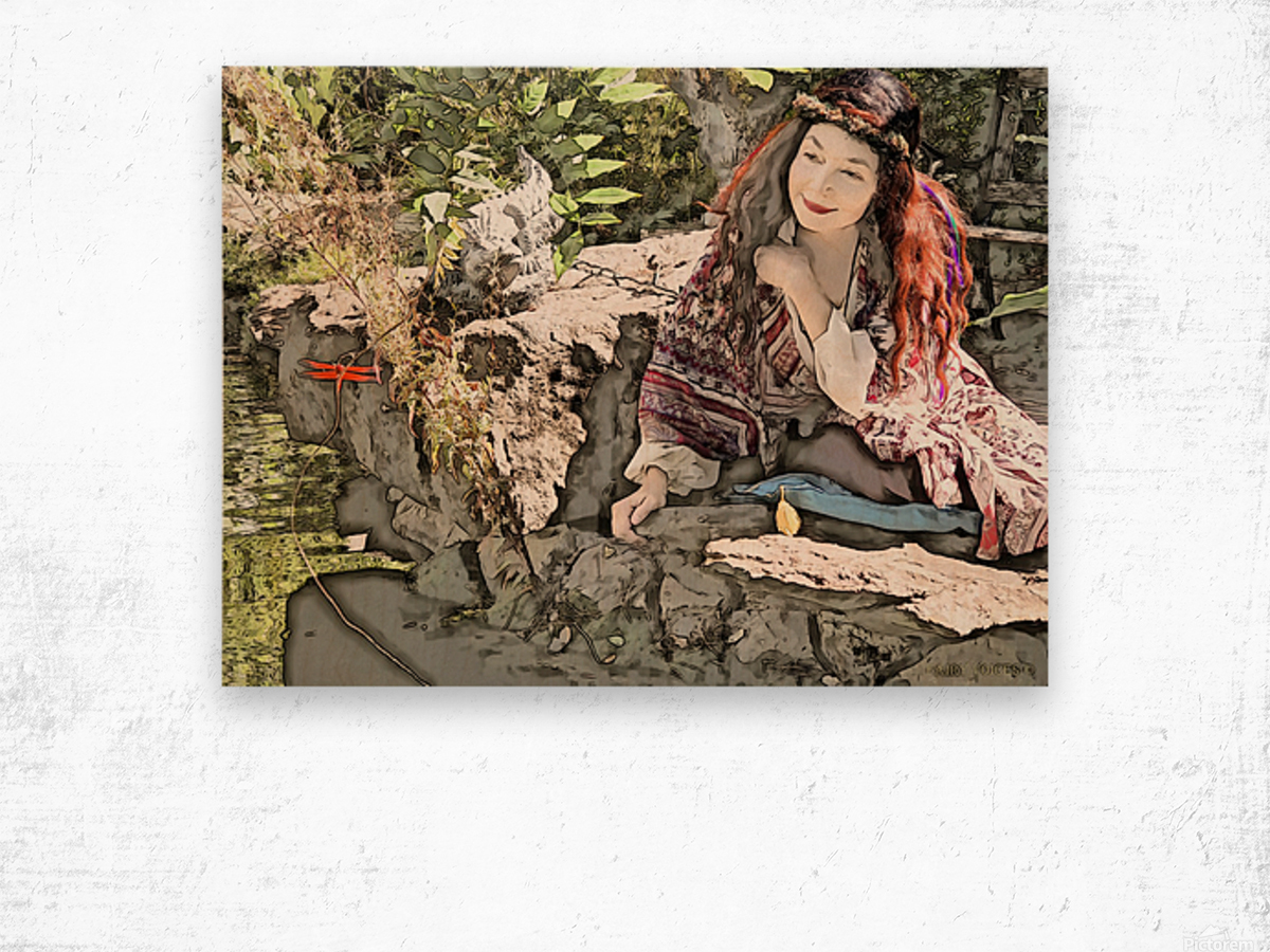 A FAIRY TALE STORY -Art- Photo  1-4  Wood print