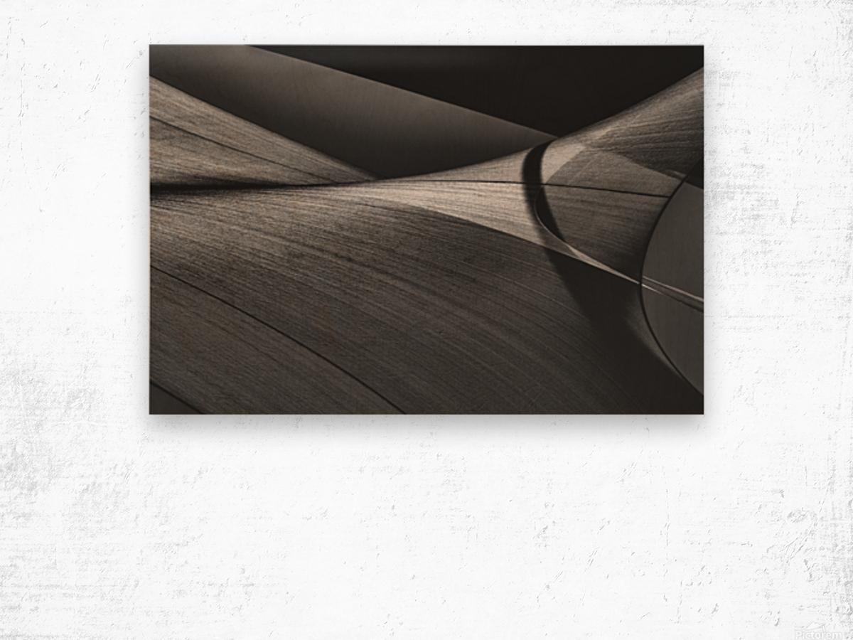 Abstract Sailcloth 15 Wood print