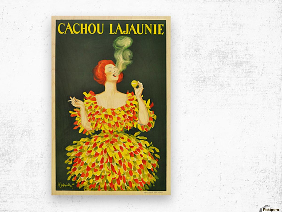 Cachou Lajaunie Wood print