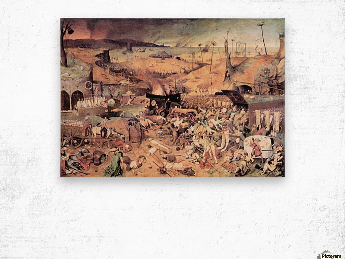 Triumph of Death by Pieter Bruegel Wood print
