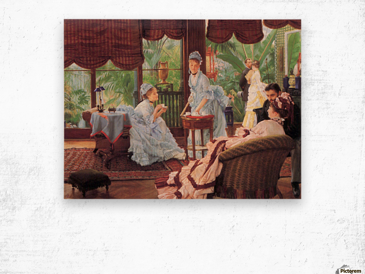 Unrivaled by Tissot Wood print