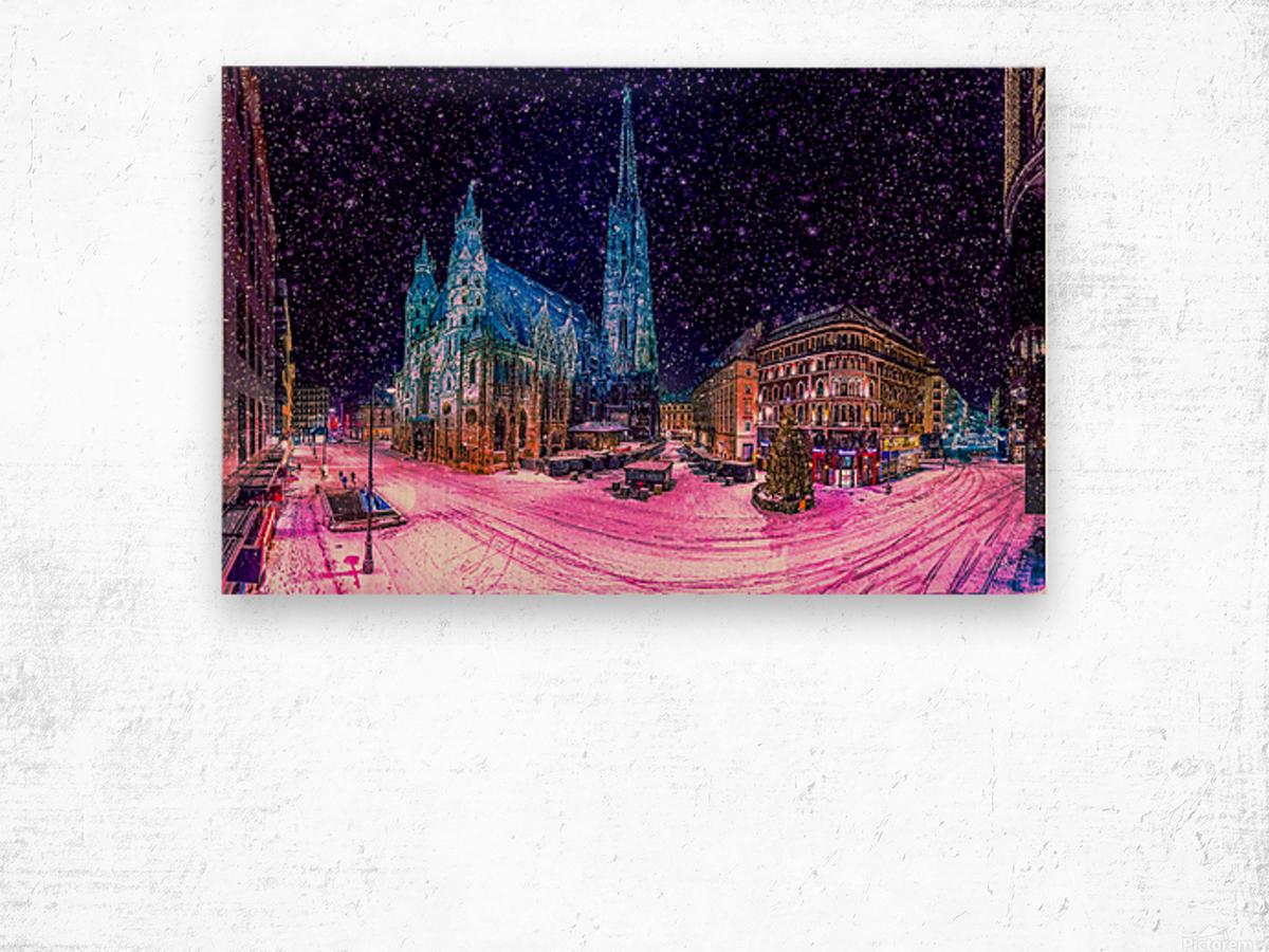 Christmas in Vienna Wood print