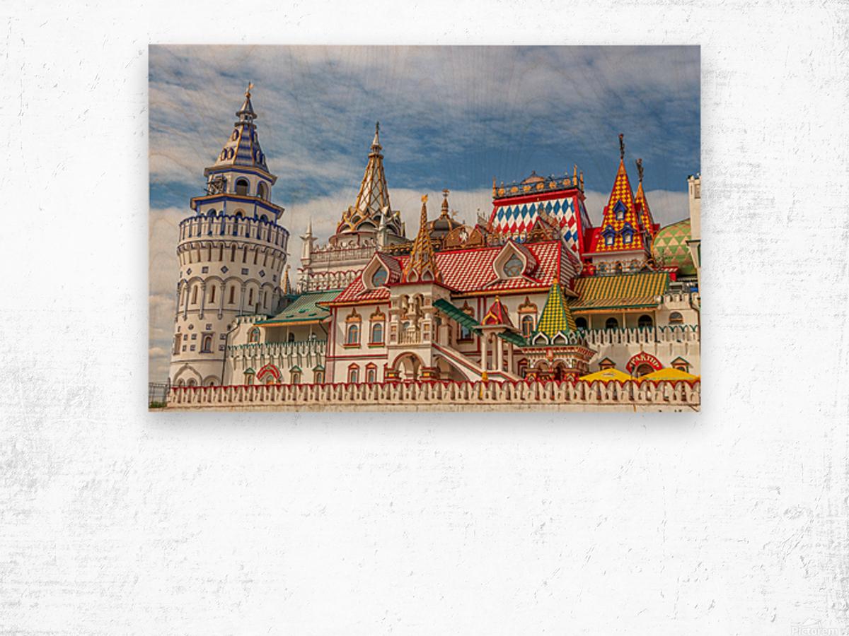 Kremlin Wood print