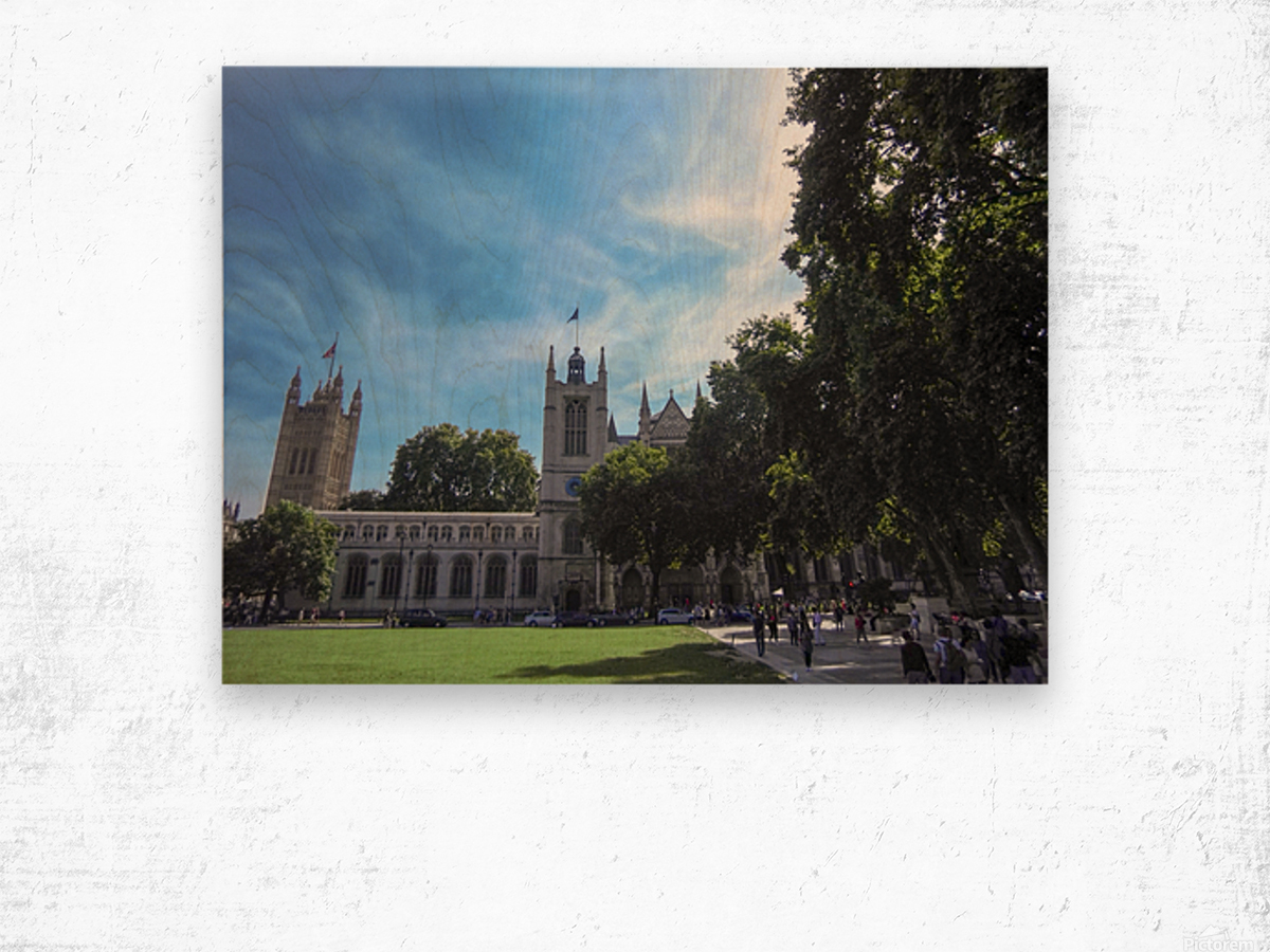 Snapshot in Time Quintessential London 5 of 5 Wood print