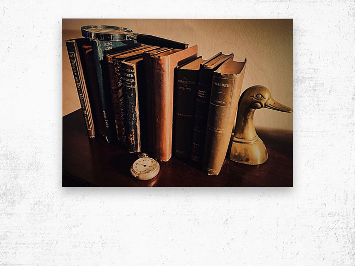 Studious Wood print