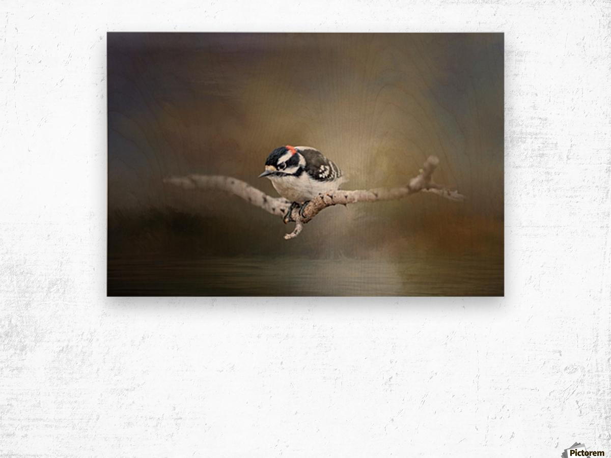 Mr Downey Wood print