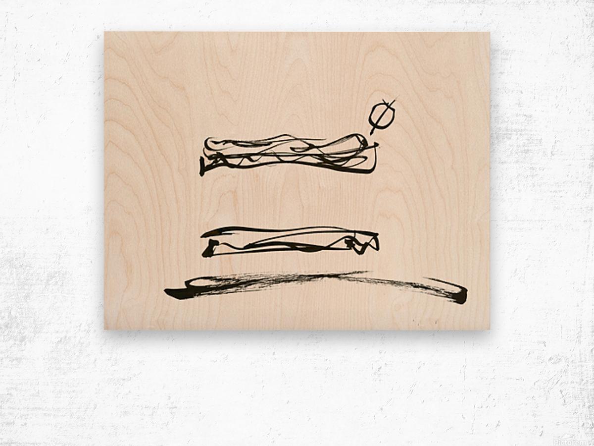 2020 no-sandwhich Wood print