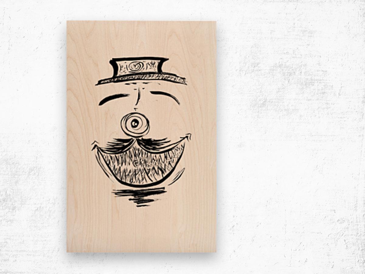 2021 happy dish Wood print