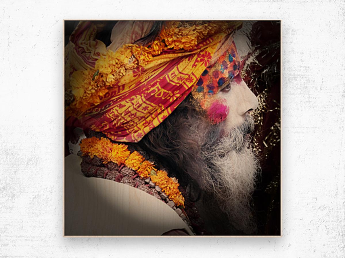 Priest India Wood print
