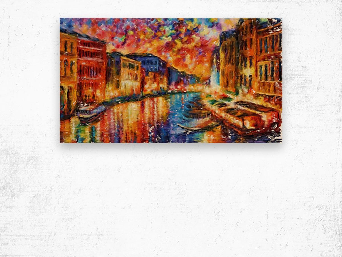 Grand Canal  Wood print