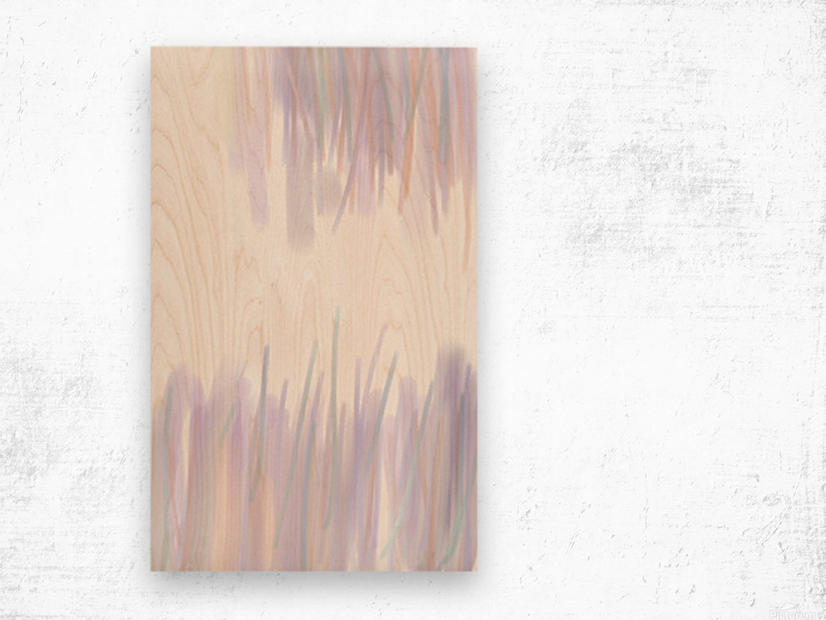 ABSTRACT PAINTING 70 Wood print