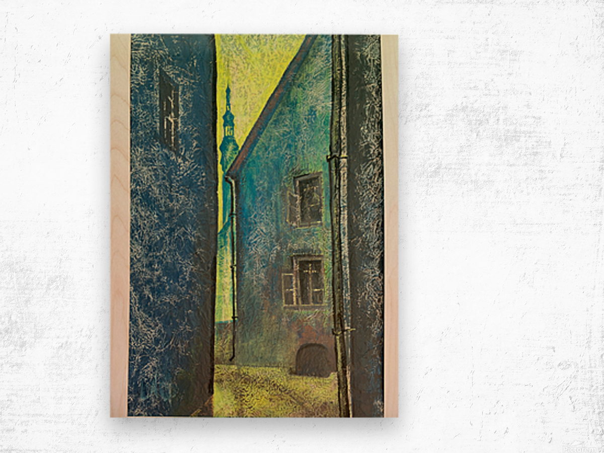 Old Tomas Wood print