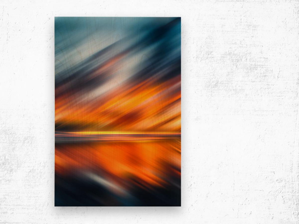 Abstract Movement XXXV Wood print
