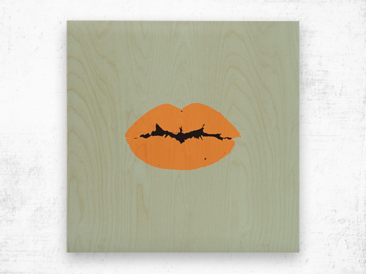 Surfboard Wood print