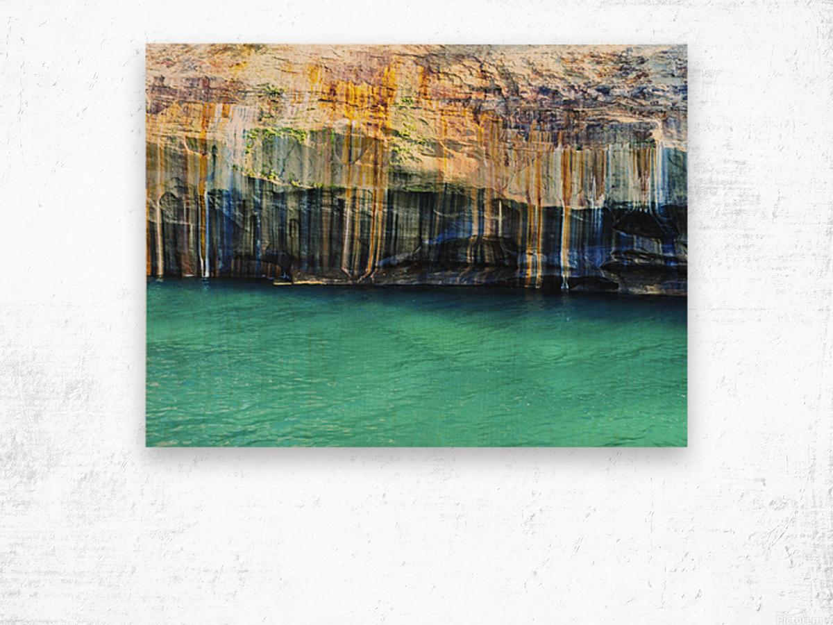 0214 Wood print