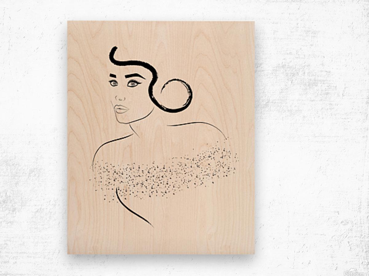 That look Wood print