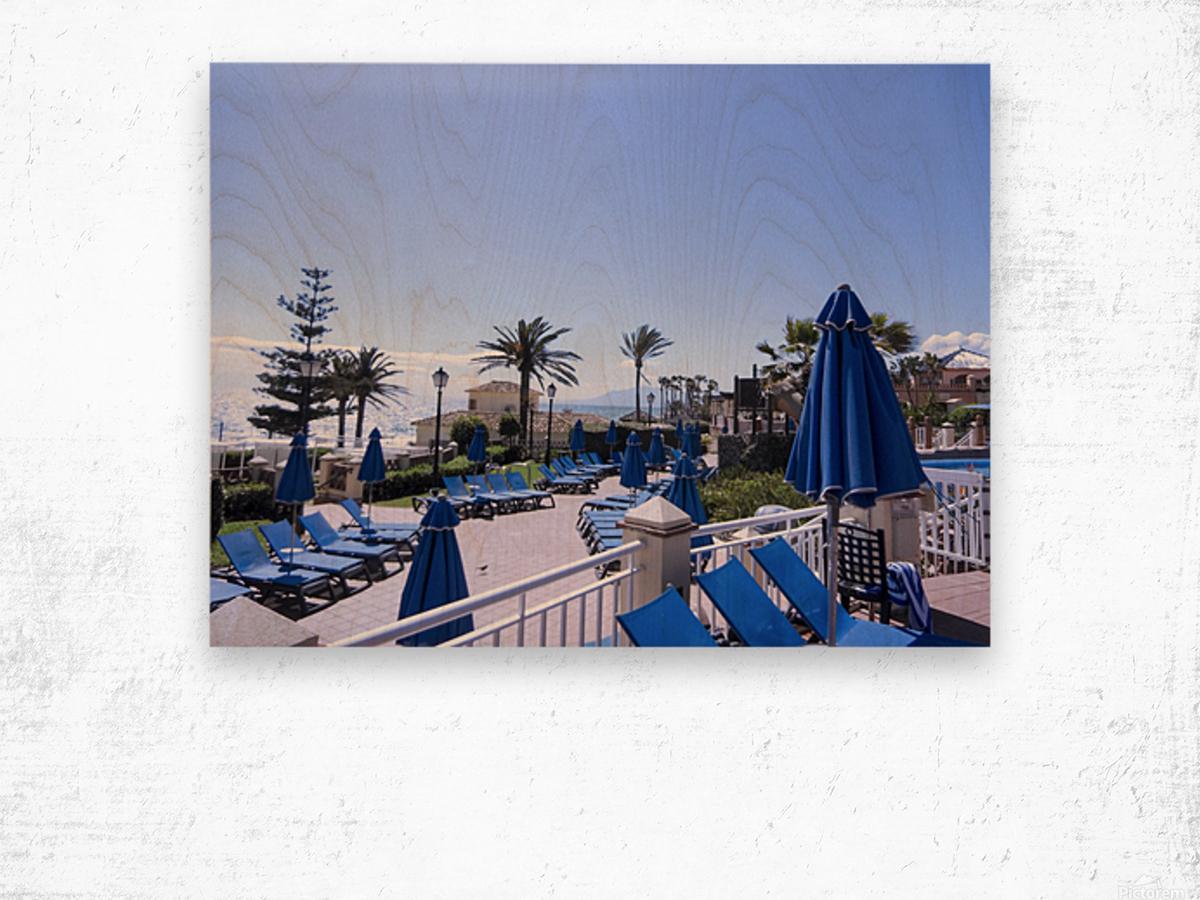 Costa del Sol Andalusia Spain 3 of 4 Wood print