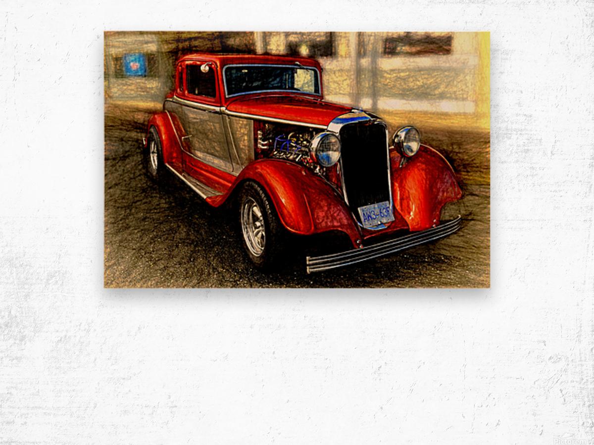 1933 Dodge Coupe Wood print