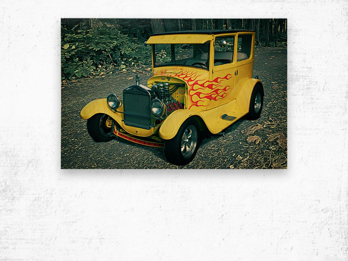 1927 Ford Model-T Wood print