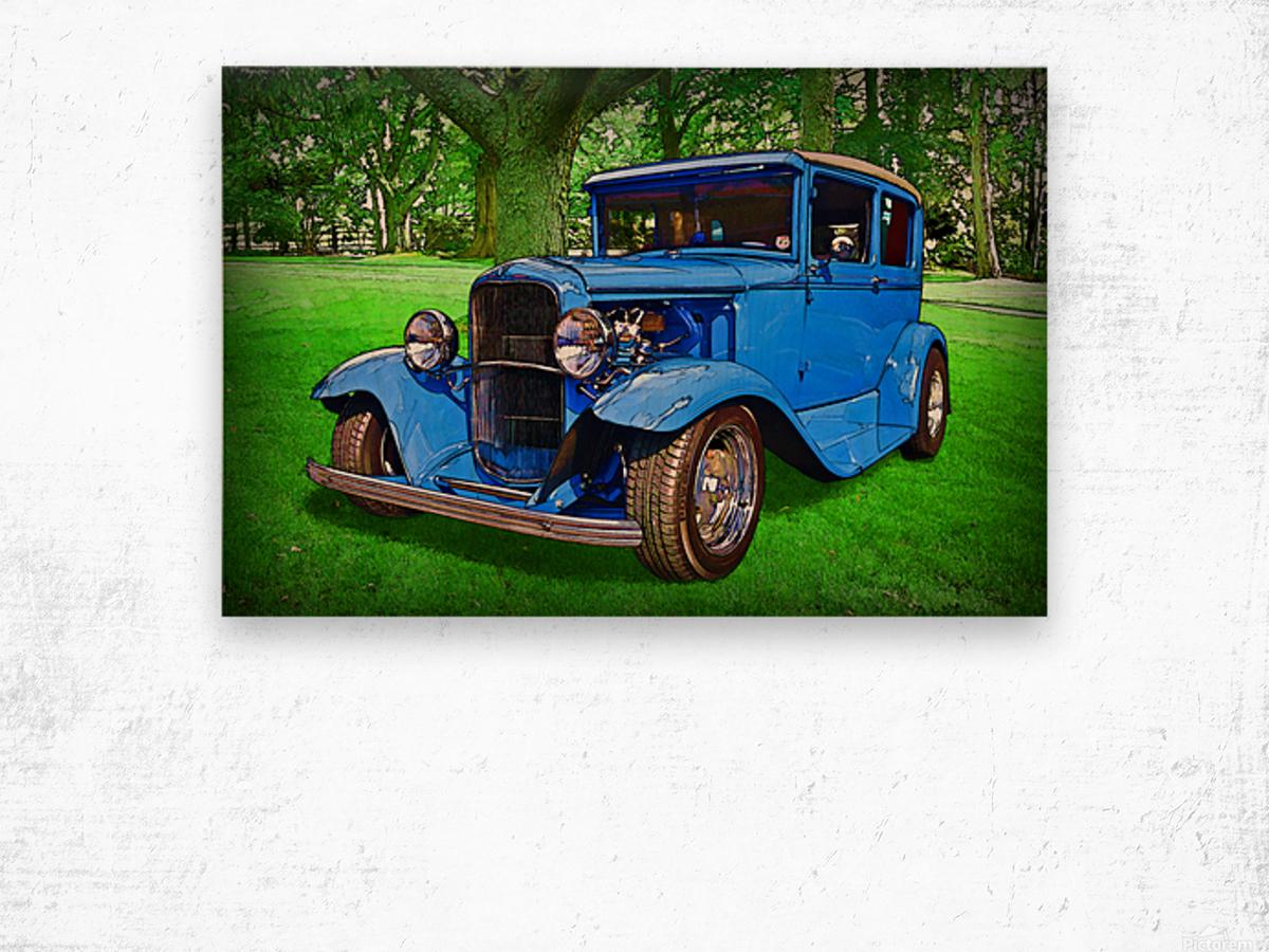 1930 Ford Wood print