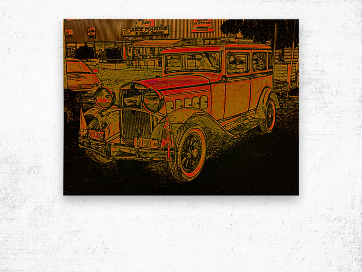 1930 Hudson Wood print