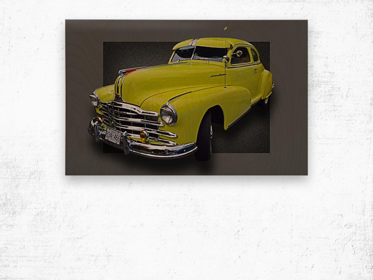 1948 Pontiac Silver Streak Wood print