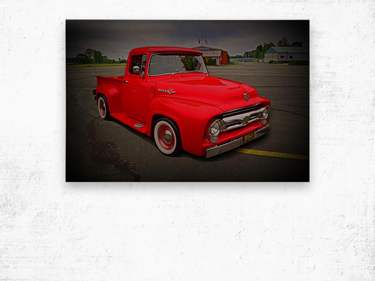 1953 Ford Pickup Wood print