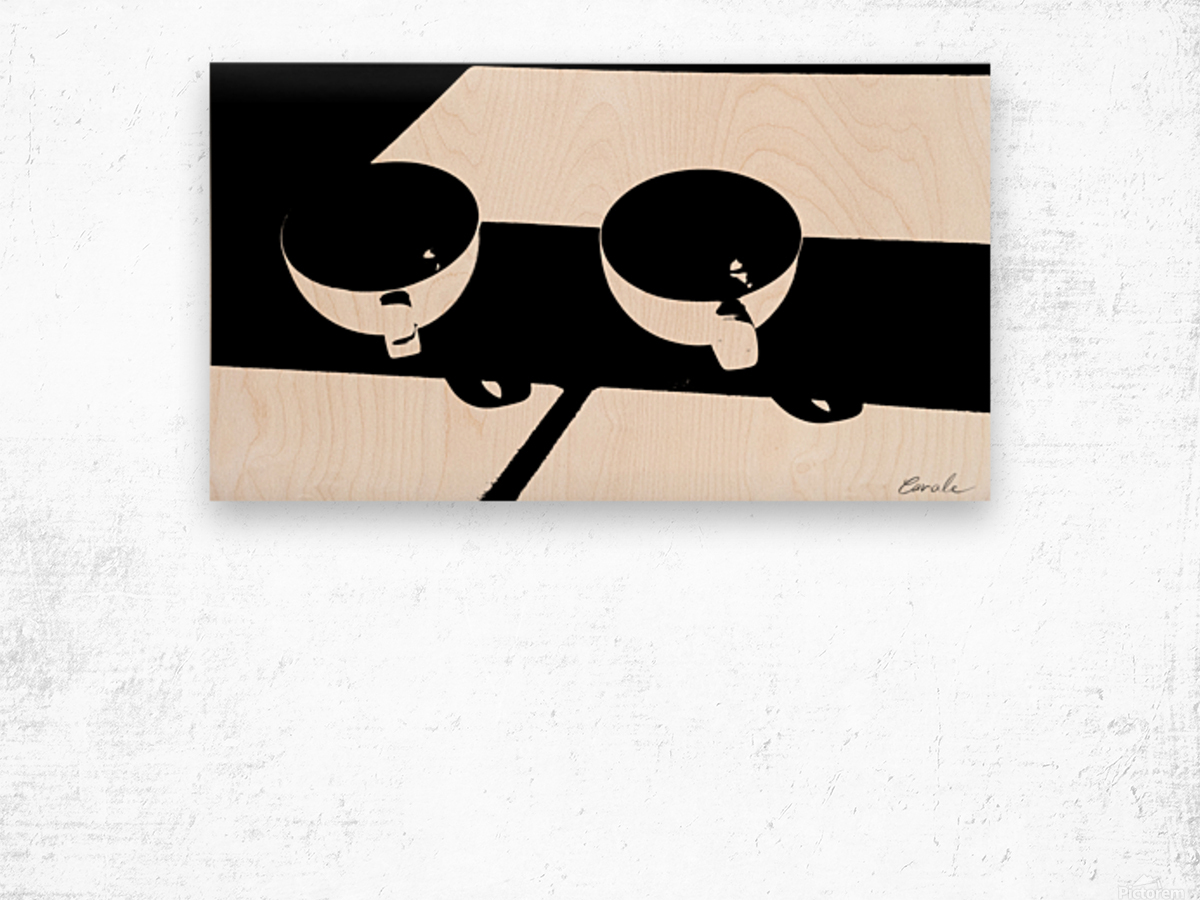 Un Amour Consomme - A Consumed Love  variation 3 NB Wood print