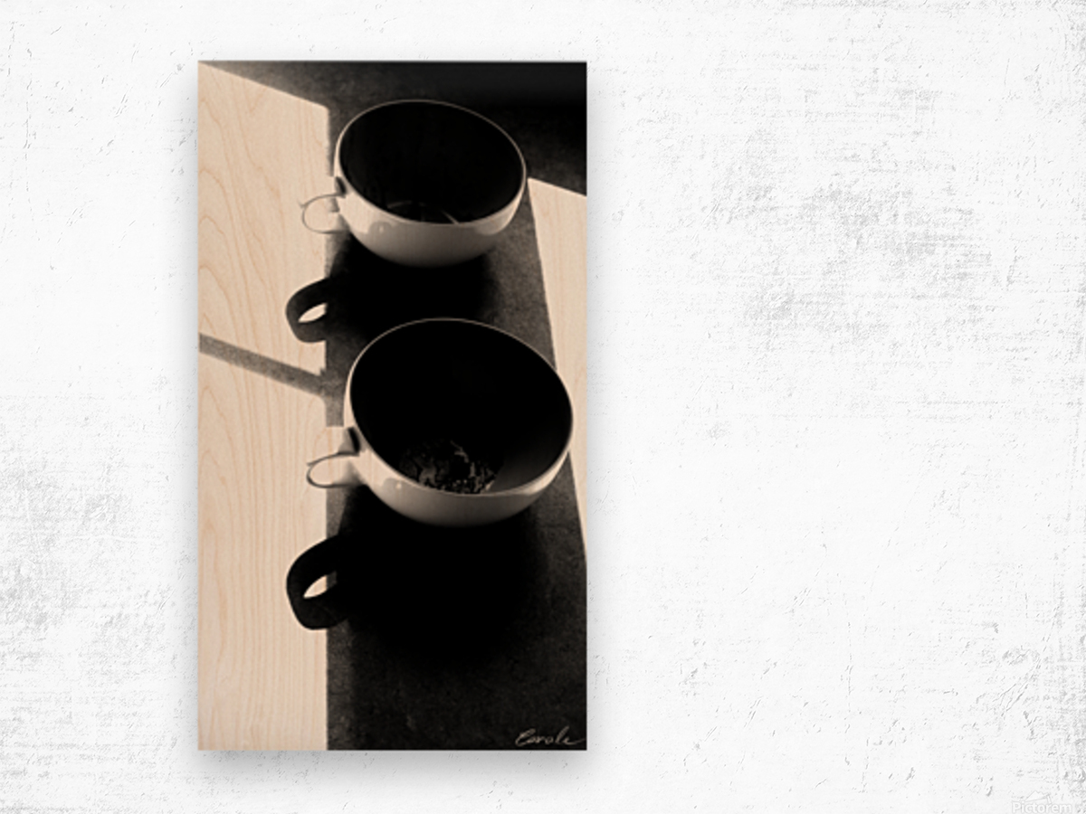 Un Amour Consomme - A Consumed Love  variation 2 NB Wood print