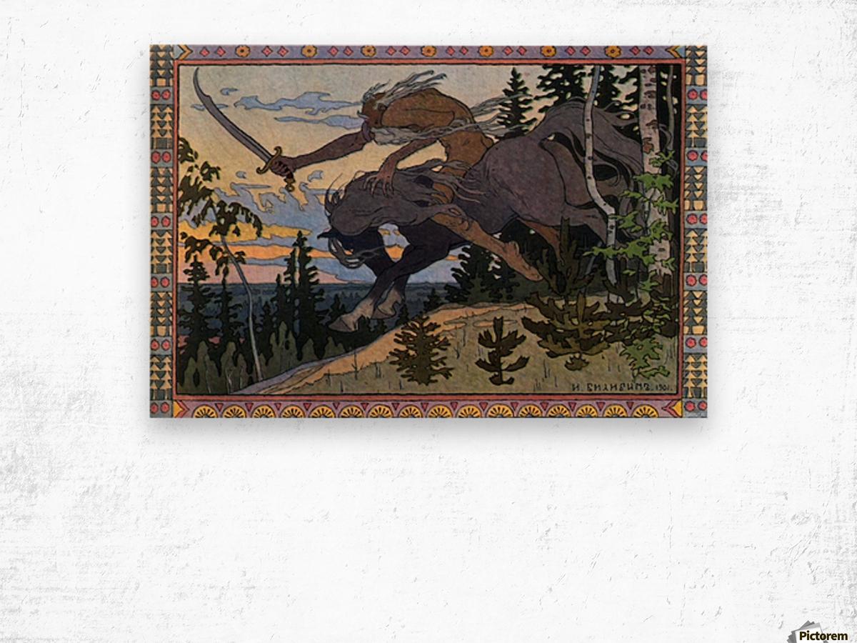 Fantasy Poster Wood print