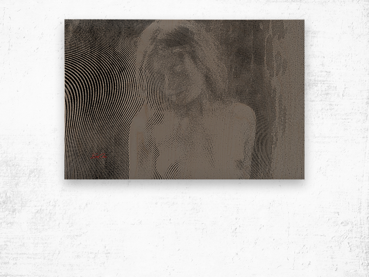 Goddess Zoe Limited Edition 5 Prints only Wood print