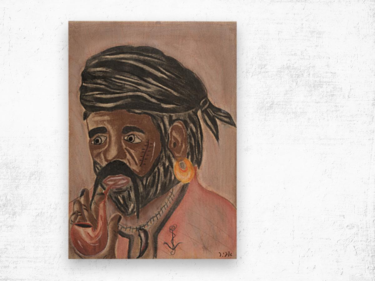 RA 004 - פיראט - Pirate Wood print