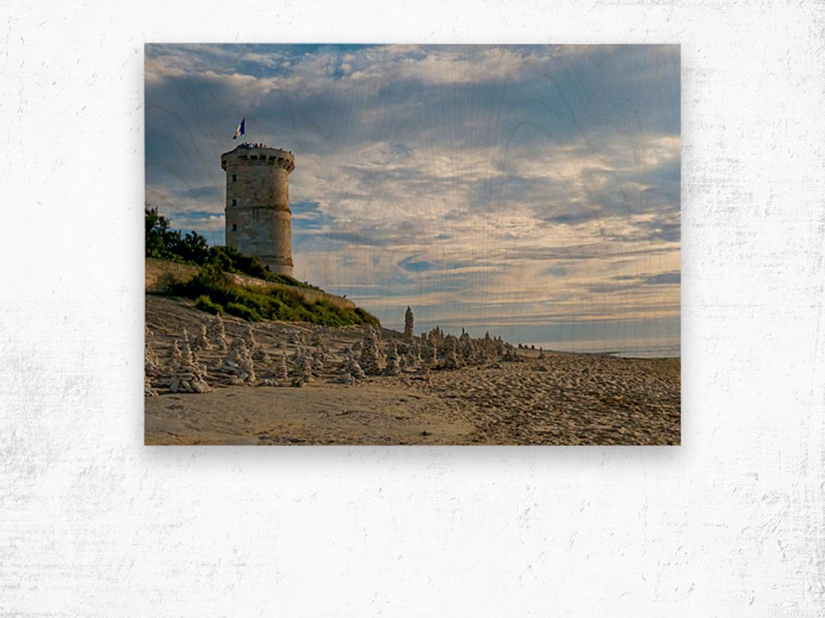 Isle of Re Wood print