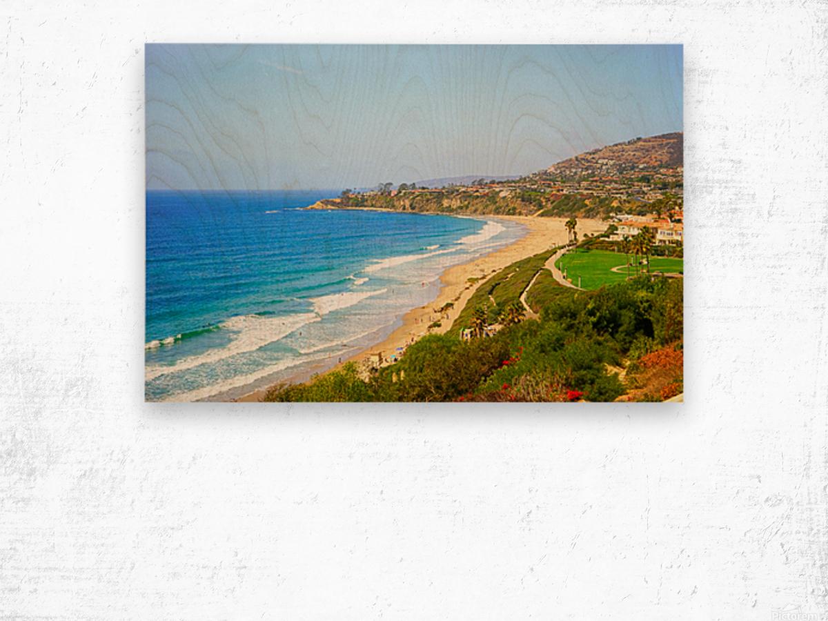 Beautiful Coastal View Newport Beach California 1 of 2 Wood print