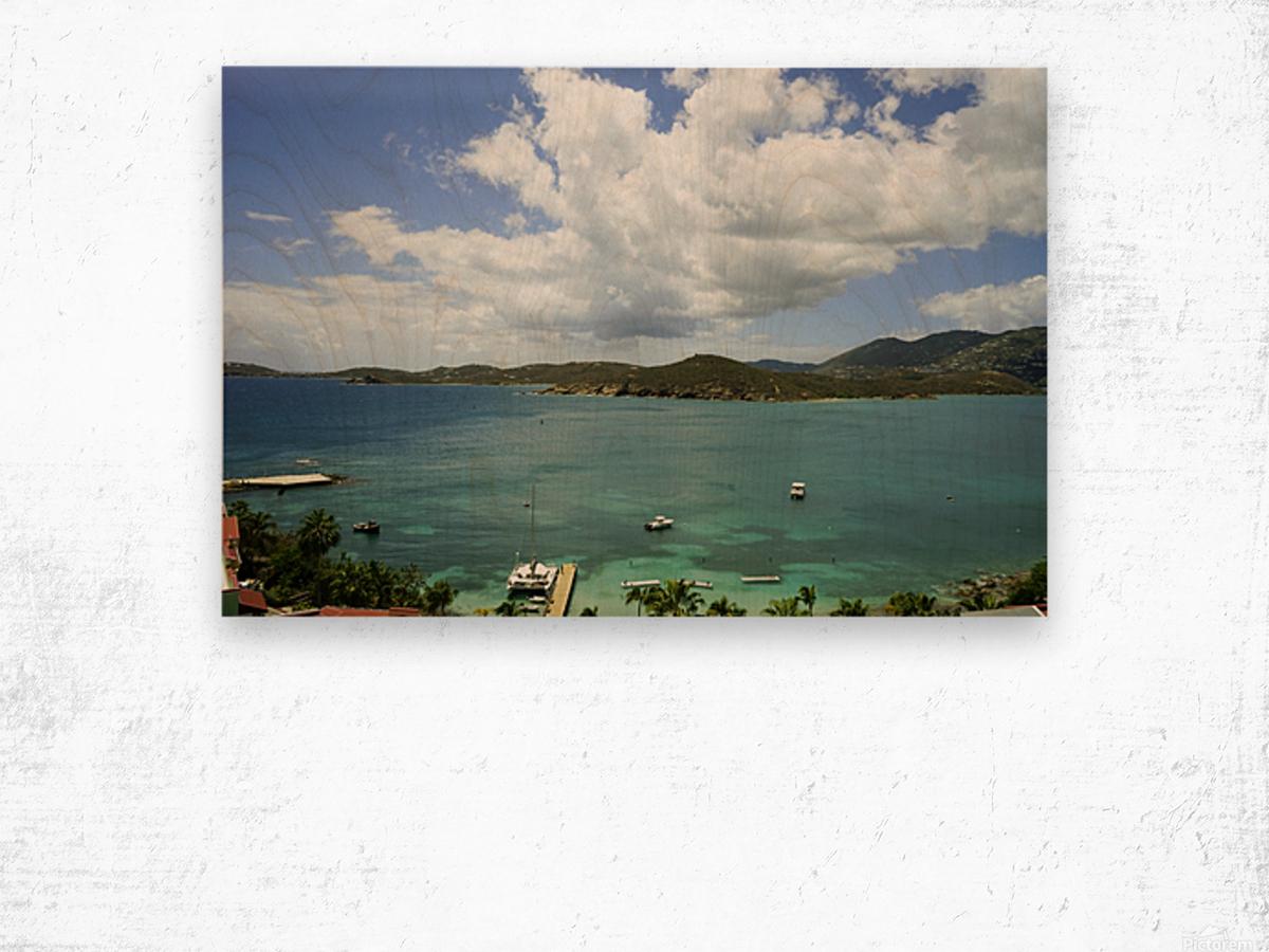 Saint Thomas in the Caribbean Islands Wood print