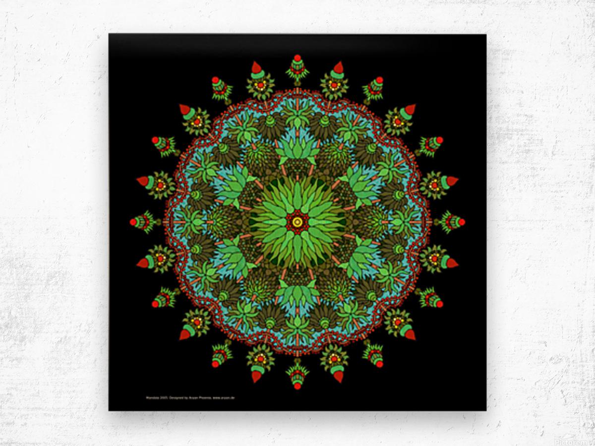 Mandala 2005 Wood print