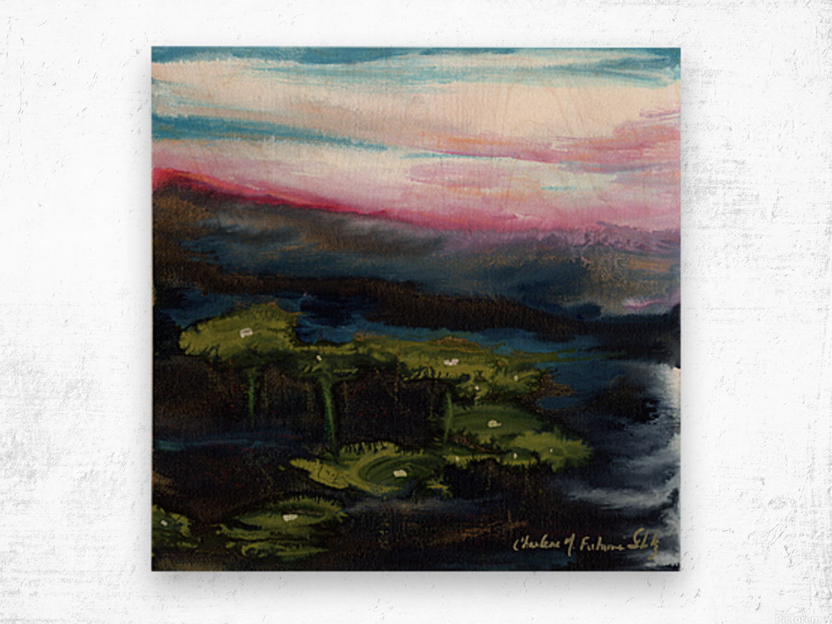 Channeling Monet Wood print