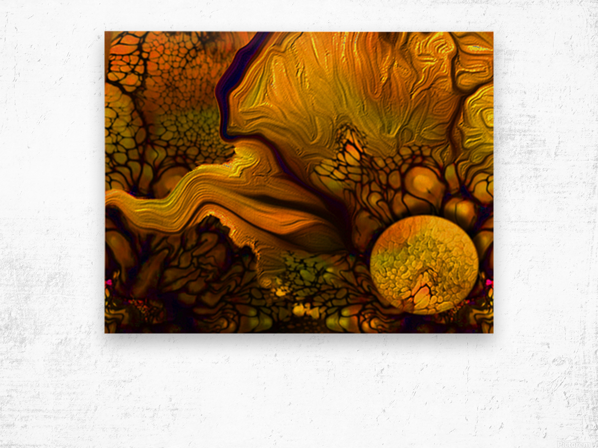 Pollens Summer Glow 2 Wood print