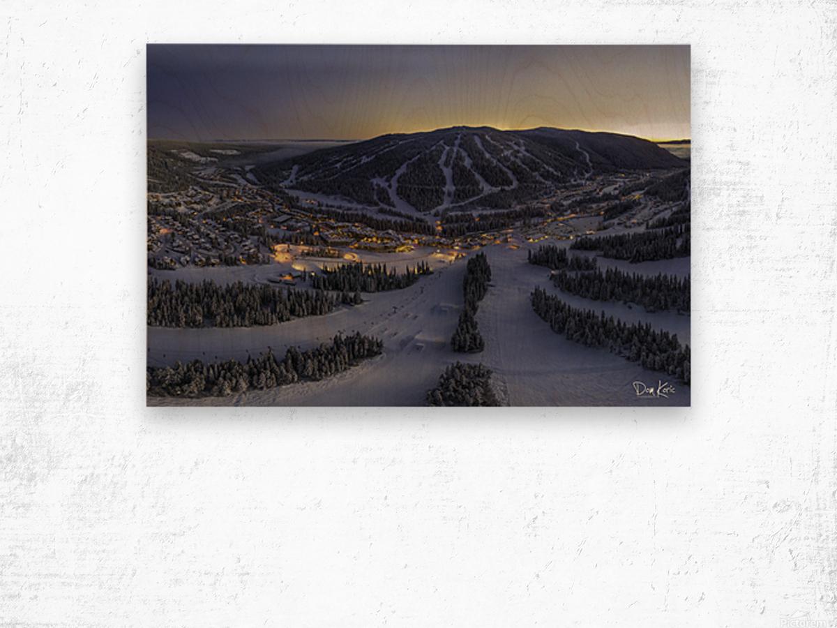 twilight jan 2020 Wood print