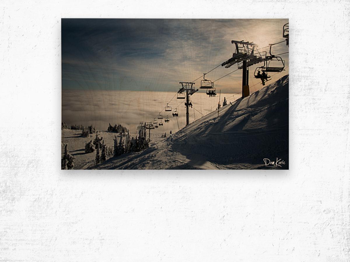 Dec 31 Print 8 Wood print
