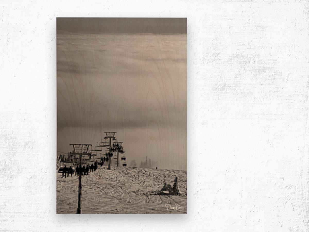 Chairway to Heaven Wood print