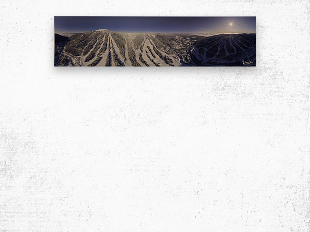 Mid Valley Wood print
