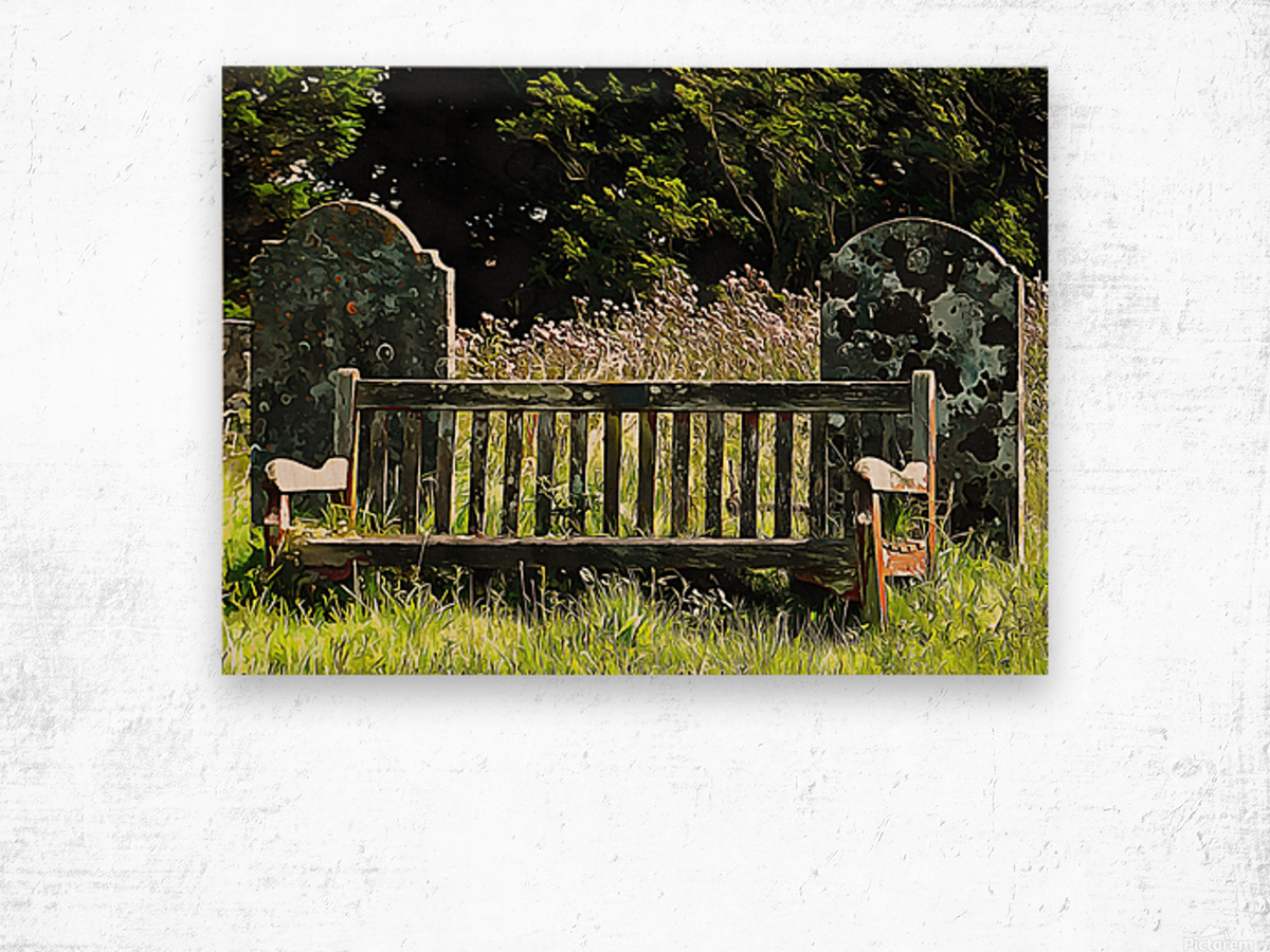Time for Contemplation Wood print