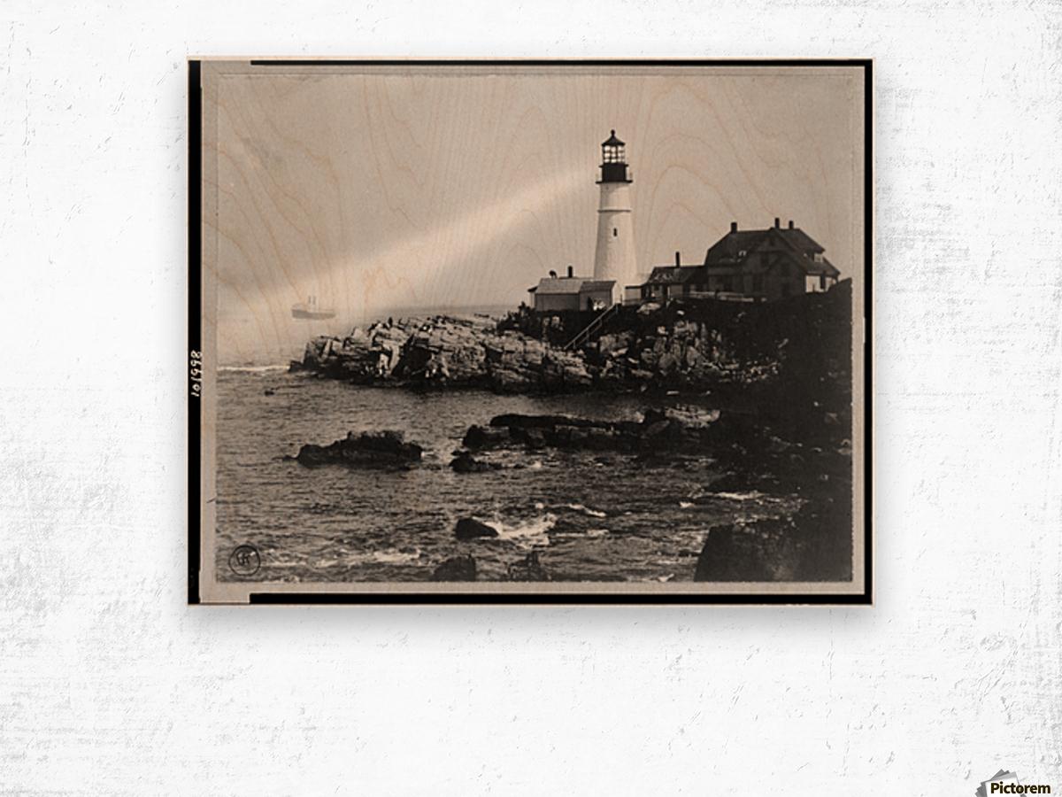 Portland-Head-Light-Portland-Maine Wood print