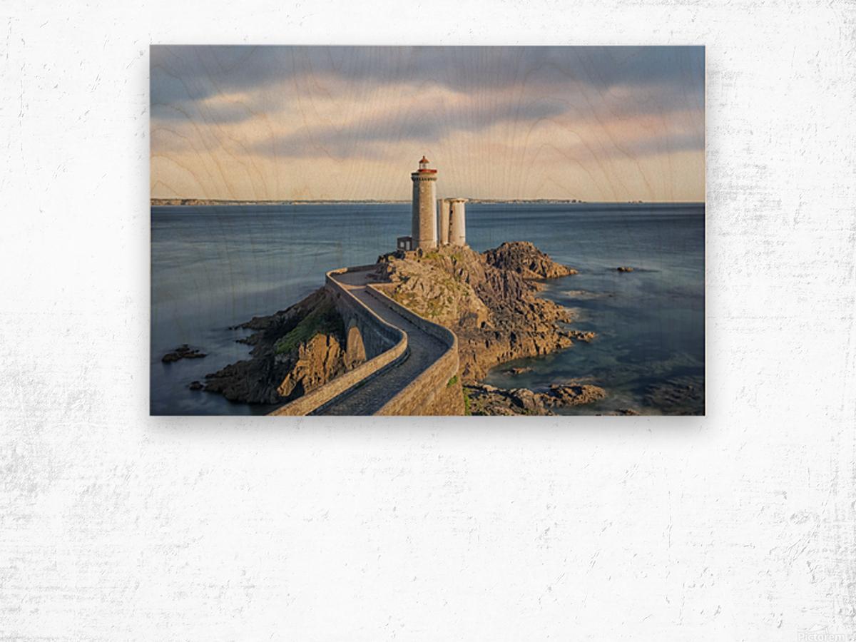 Petit Minou Lighthouse Wood print