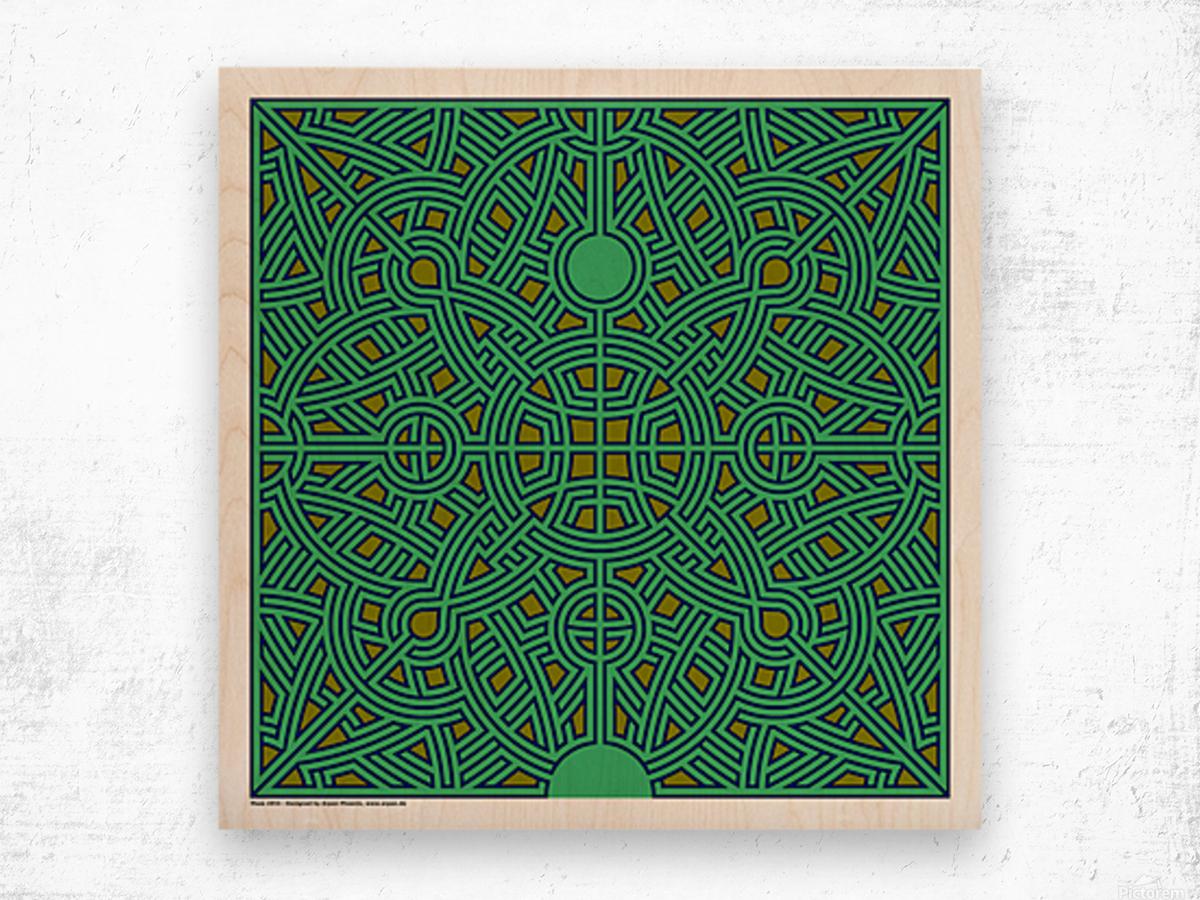 Maze 2854 Wood print